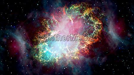 the crab nebula is a supernova
