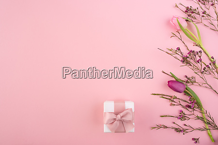 pink mothers day still life