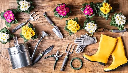 gardening, tools, and, flowerpots - 28168276