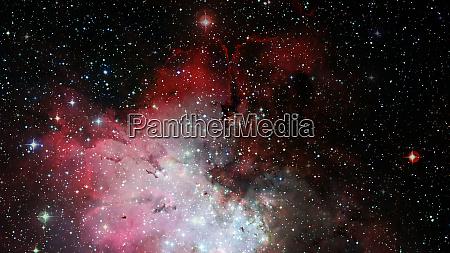 pleiades in a dark night sky