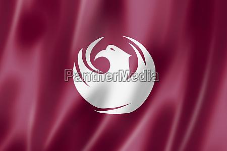 phoenix city flag arizona usa