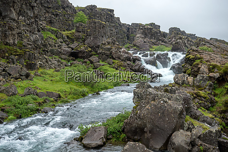 Tingvellir where the european and american