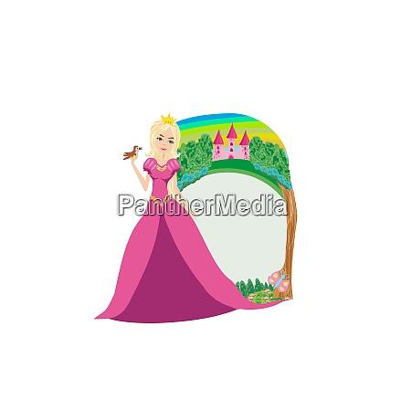 magic fairy tale frame