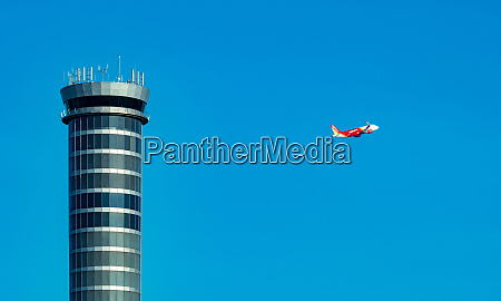 air traffic control tower in the