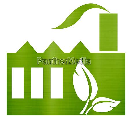 eco friendly factory environmentally eco green