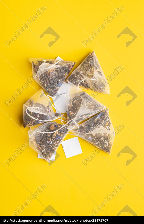 floral, tea, bag - 28175707