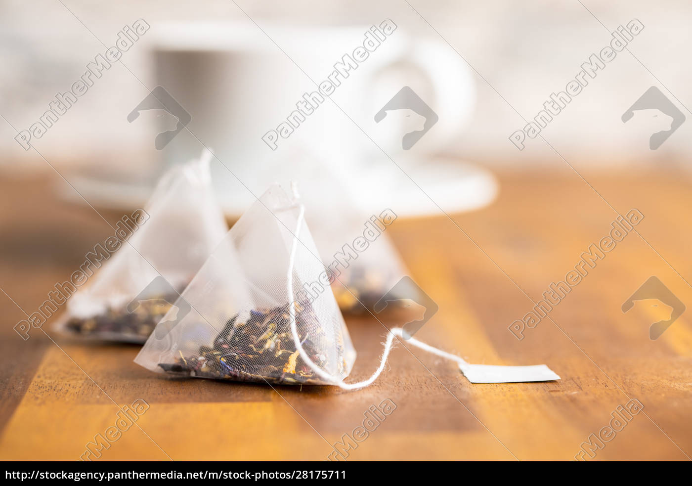 floral, tea, bag - 28175711