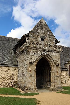 chapel of kermaria an iskuit from