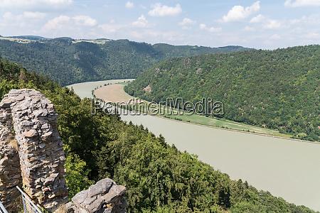 excursion destination haichenbach ruins austria