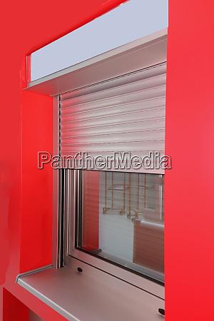 window metal shutters