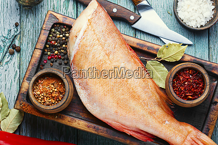 raw red perch