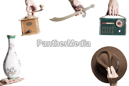 isolated set of objects for an