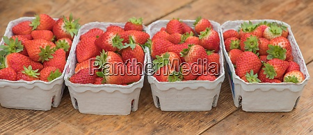 strawberry market baskets of delicious red