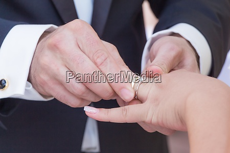 wedding bride and groom couple at