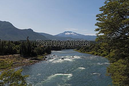 landscape on the bio bio river