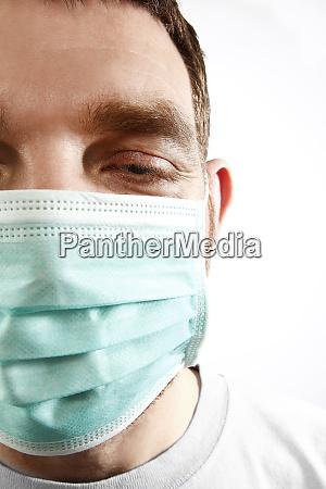 overtired doctor