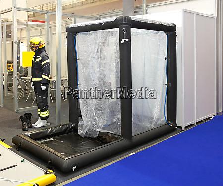 decontamination shower emergency