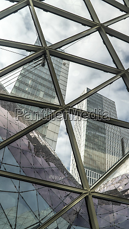 architecture in shopping center myzeil