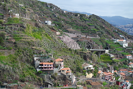 villages and terraced fields madeira