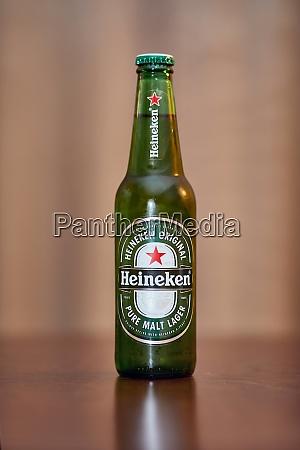 bottle of heineken beer
