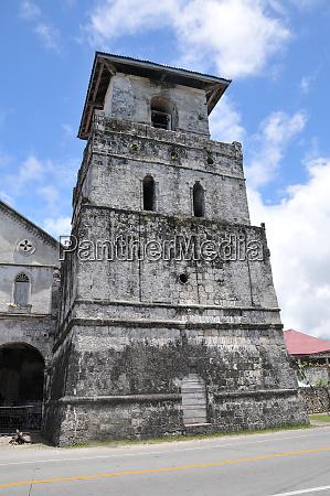 old church tower of baclayon church