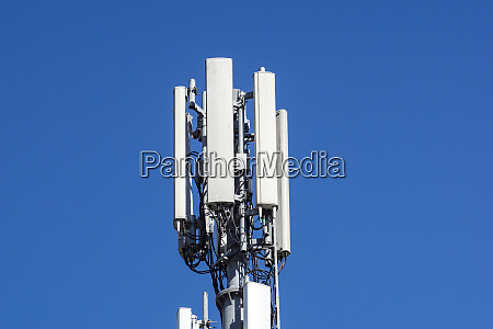 telecommunication tower of 4g and 5g
