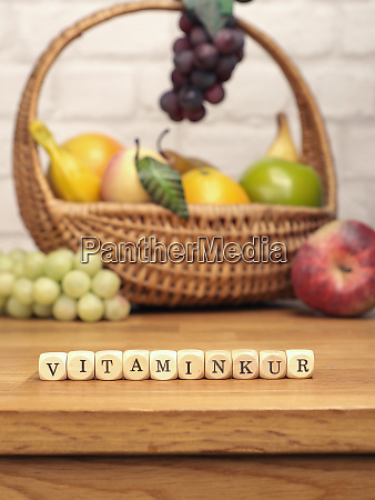 small wooden blocks with the german