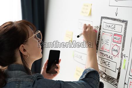 women website designer creative planning application
