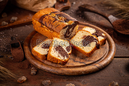 delicious sweet cake bread