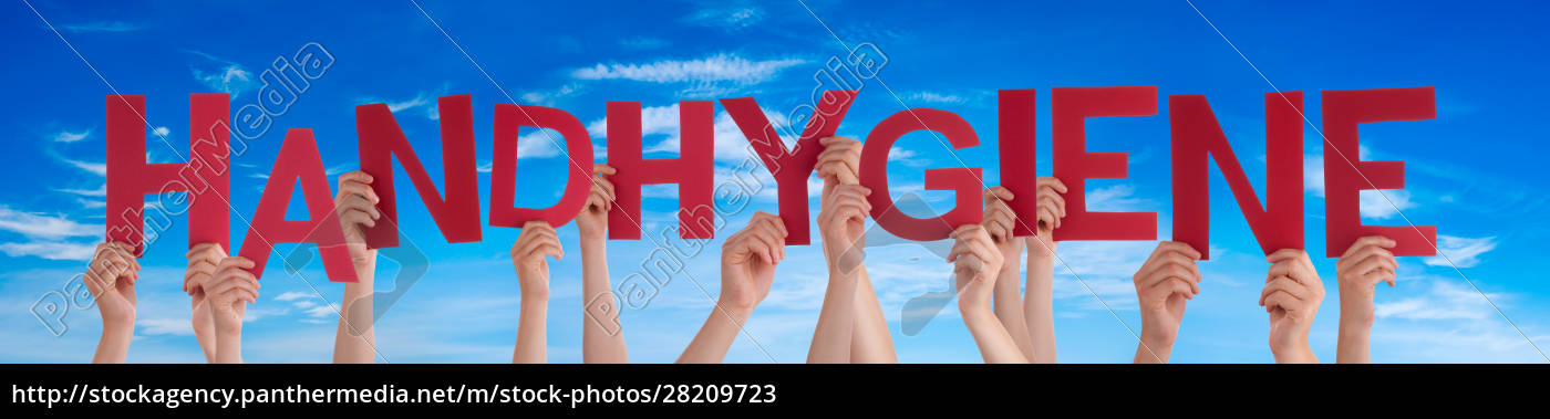people, hands, holding, word, handhygiene, means - 28209723