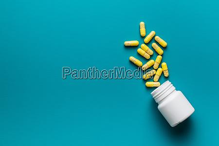 vitamin capsules vitamin c pills and