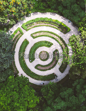 aerial view of the kowloon park