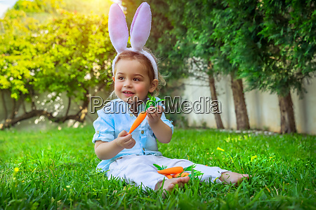sweet little easter bunny