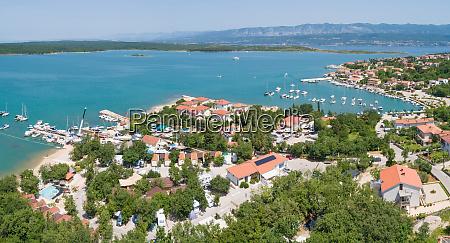 panoramic, aerial, view, of, općina, dobrinj, - 28212382