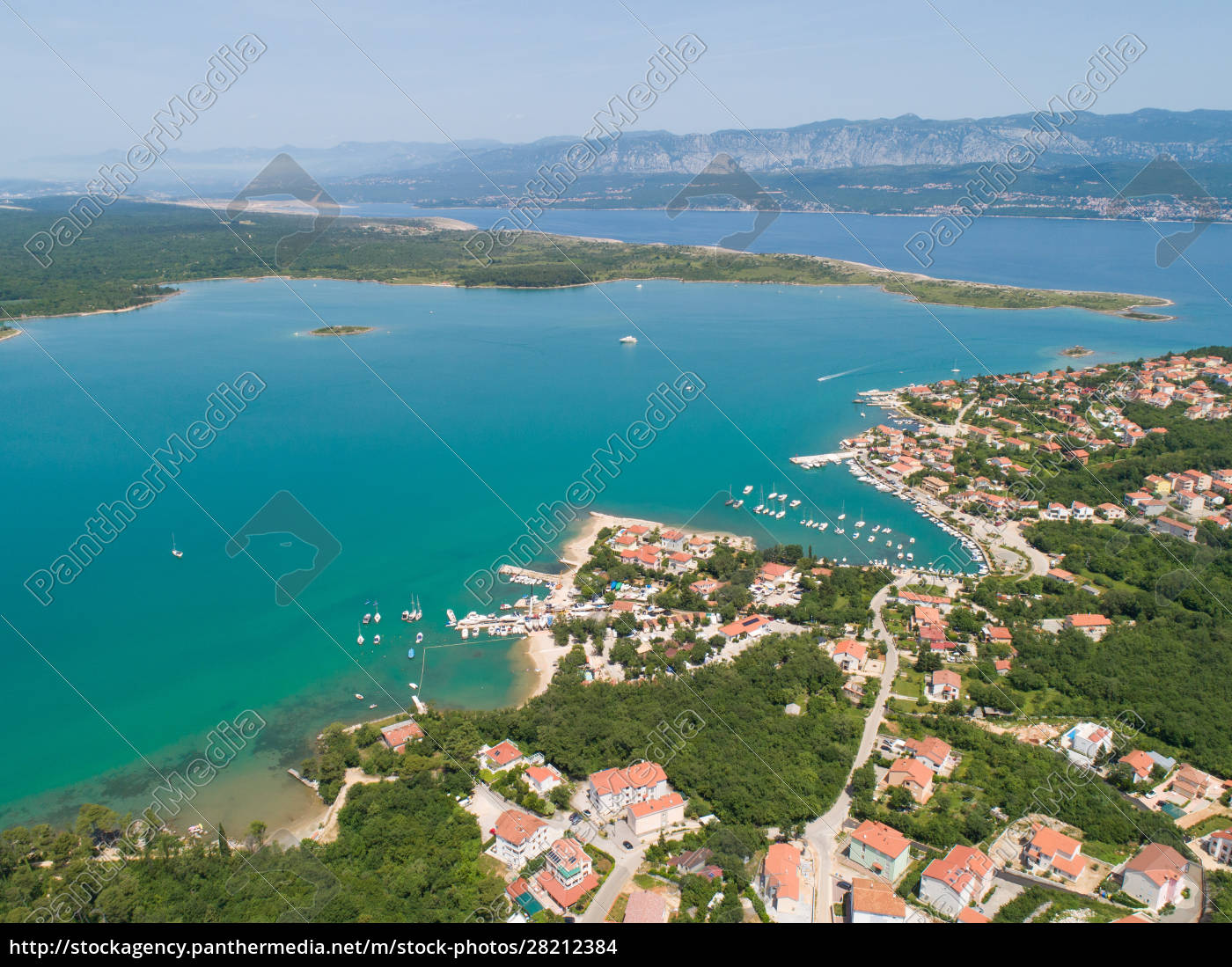 panoramic, aerial, view, of, općina, dobrinj, - 28212384