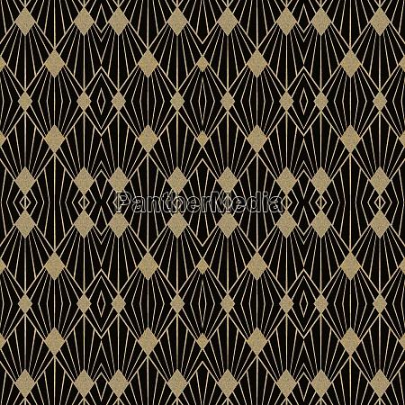 art, deco, seamless, repeating, pattern - 28215354