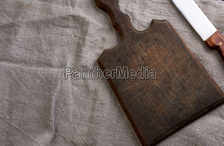 empty, brown, very, old, vintage, kitchen - 28215622