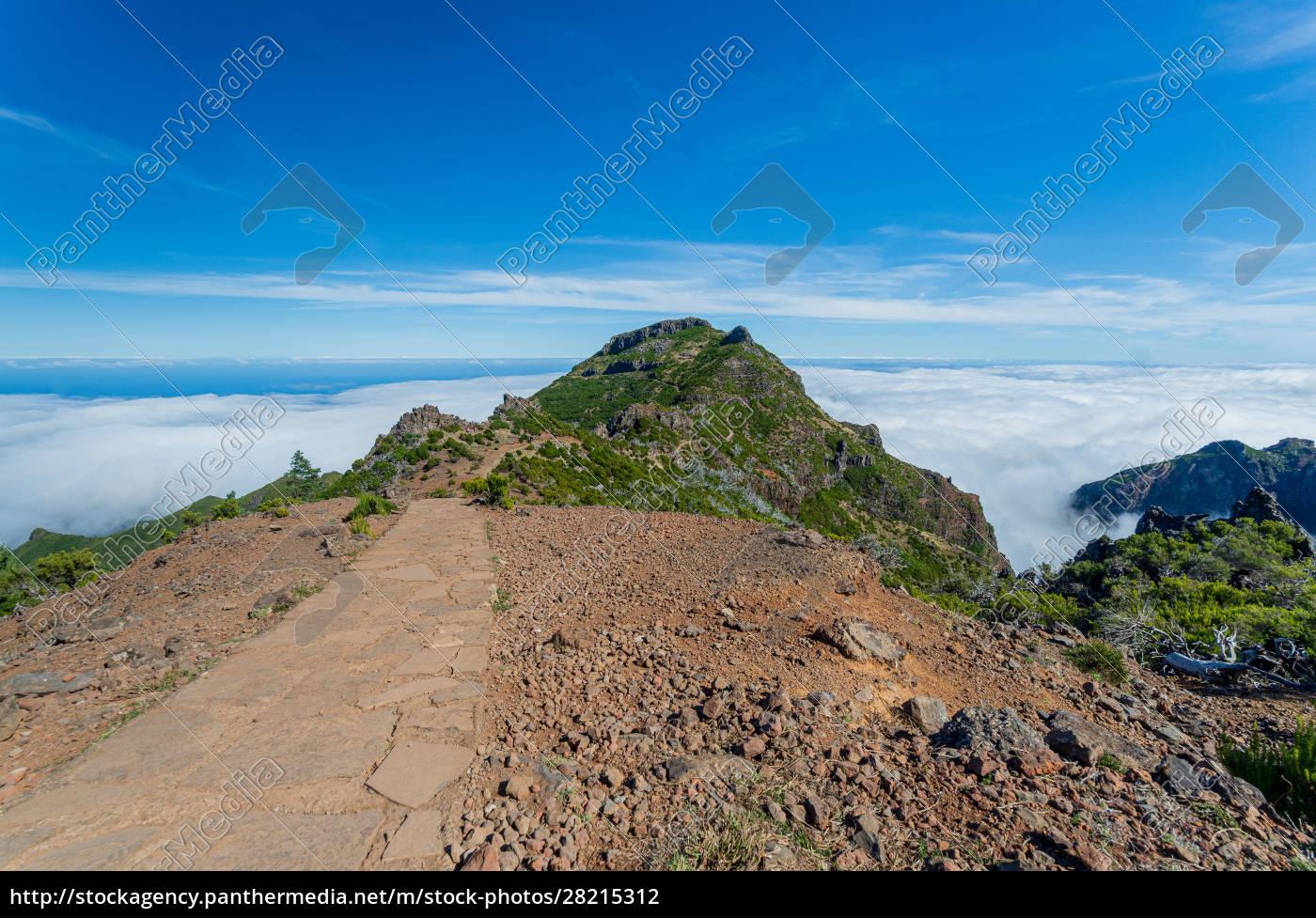 from, mountain, pico, arieiro, to, pico - 28215312