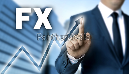 fx, touchscreen, is, operated, by, businessman - 28215799