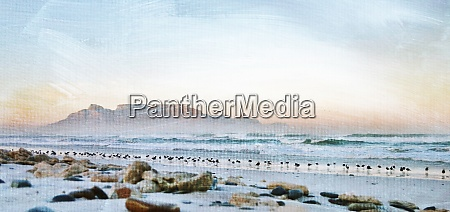 landscape, with, stones, on, the, beach - 28215151