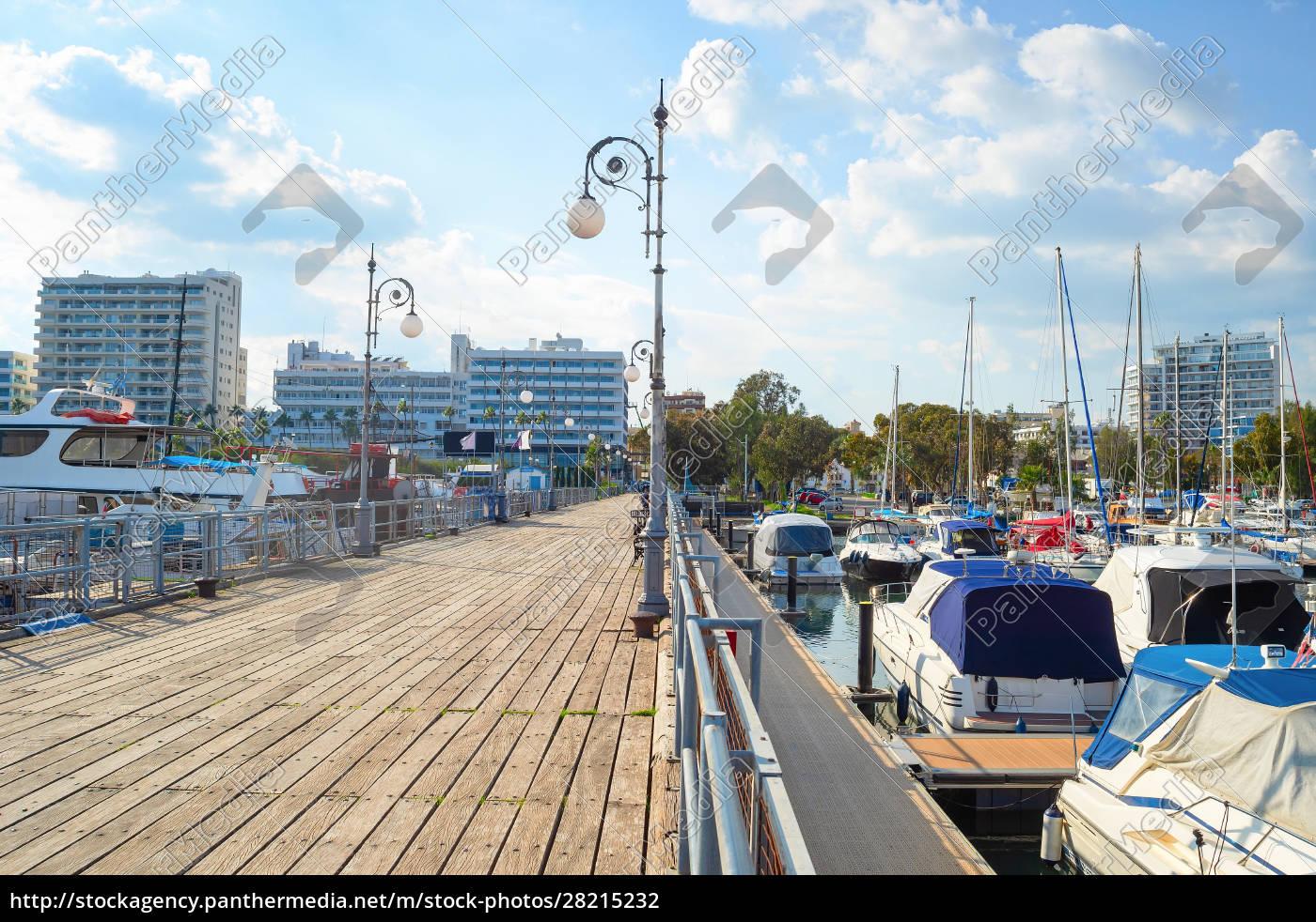 pier, , marina, , larnaca, cityscape, , cyprus - 28215232