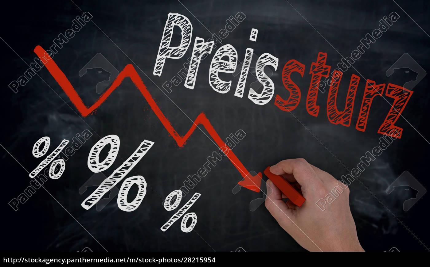 preissturz, (in, german, price, fall), is - 28215954