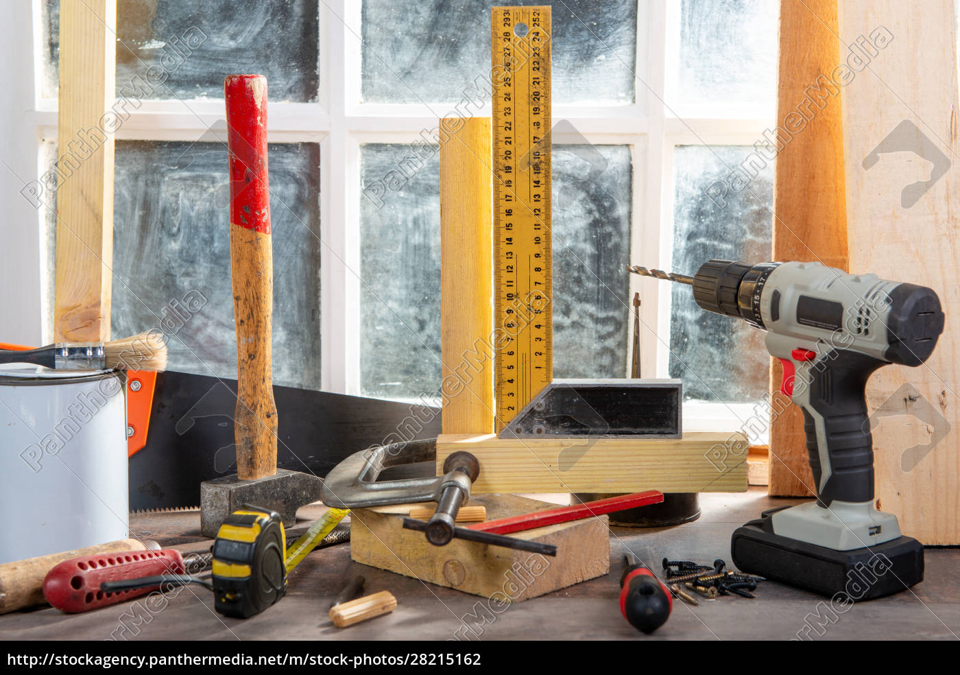 some, tools, of, carpenter, in, the - 28215162