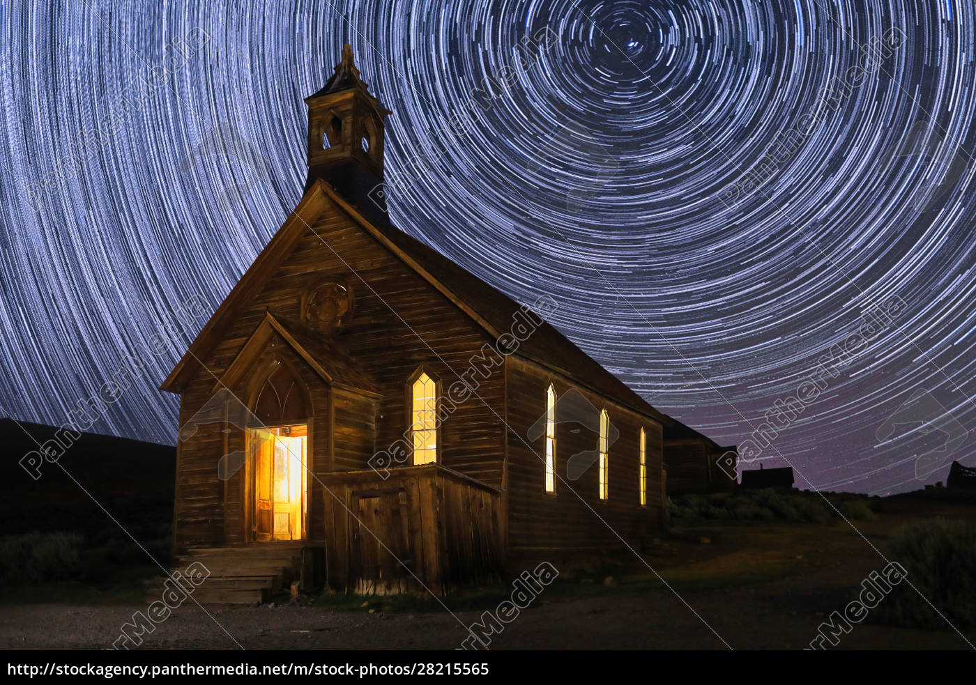 star, trails, and, milky, way, california - 28215565