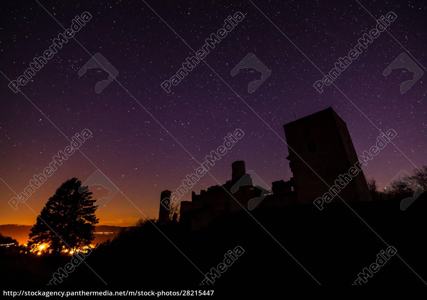 the, ruine, of, brandenburg, castle, at - 28215447