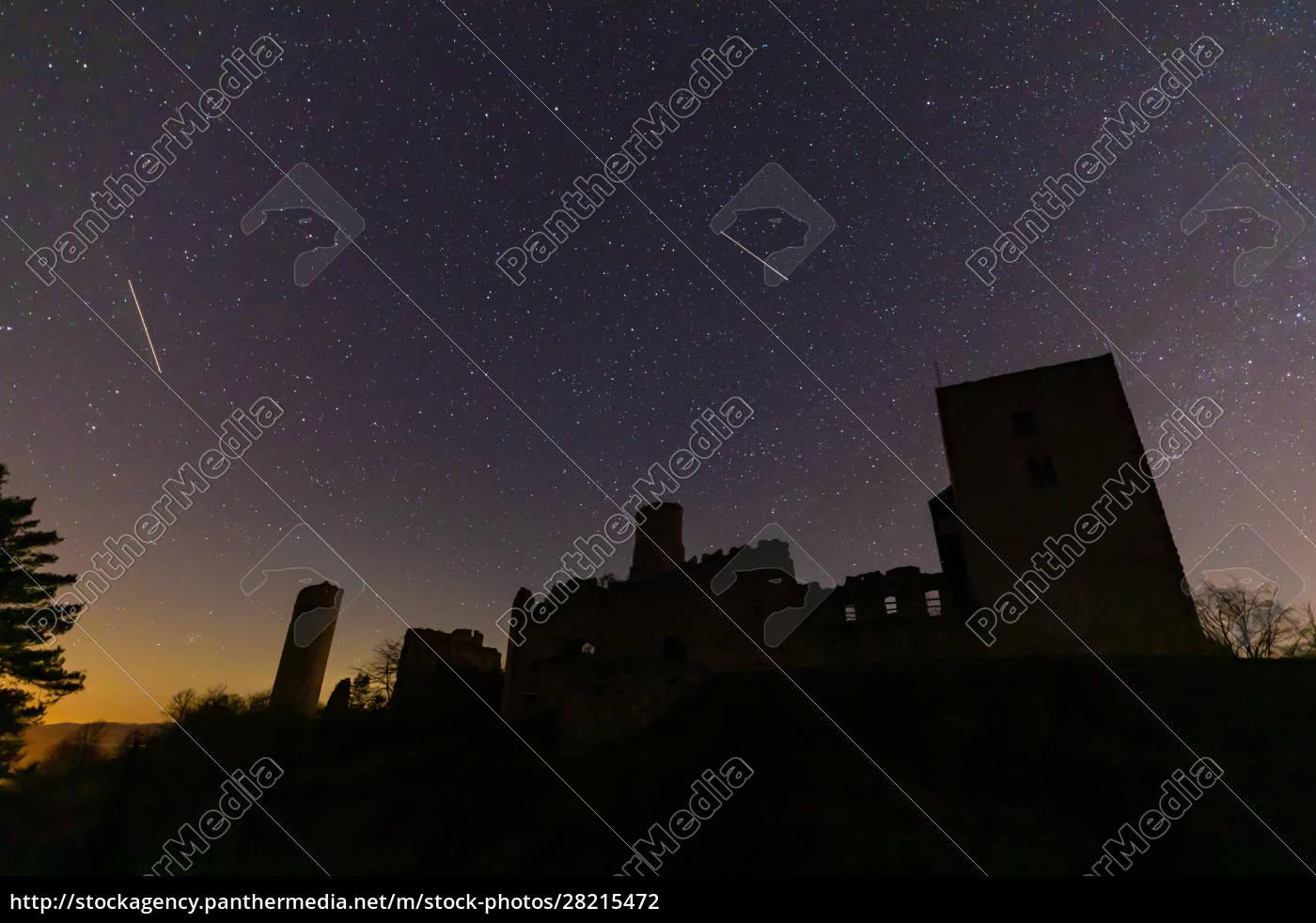 the, ruine, of, brandenburg, castle, at - 28215472