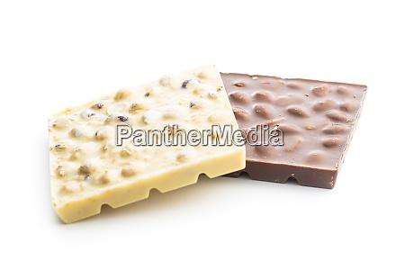white, and, dark, chocolate, bars. - 28215134