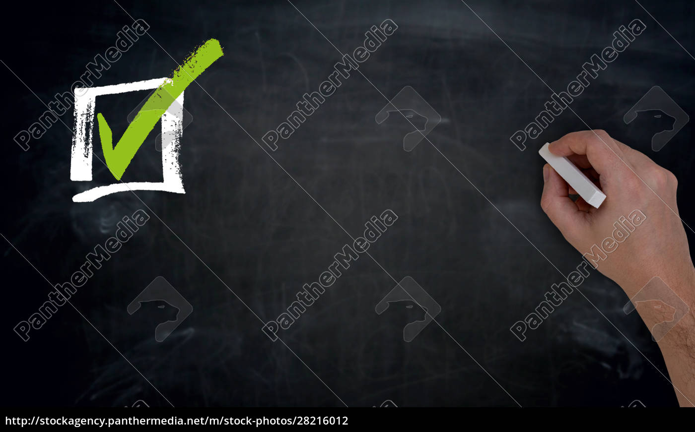 checklist, with, copy, space, hand, writing - 28216012