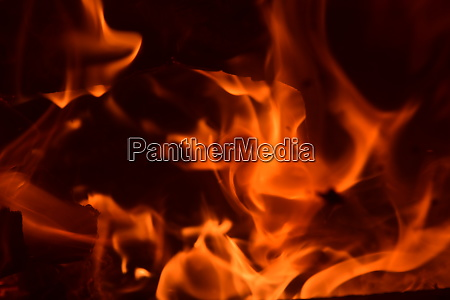 fire, in, the, fireplace, , log, fire, - 28216218
