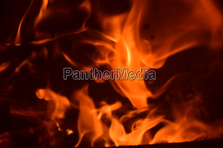 fire, in, the, fireplace, , log, fire, - 28216219